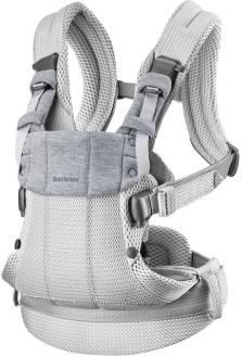 BABYBJORN - nosidełko Harmony 3D Mesh, Srebrny