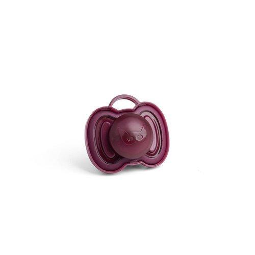 Herobility - smoczek uspokajający HeroPacifier, 0 m+, bordowy