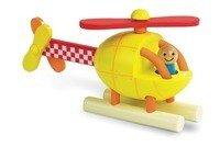 Janod - Helikopter drewniany magnetyczny