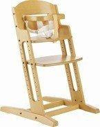 Krzesełko do karmienia Baby Dan DANCHAIR naturalne