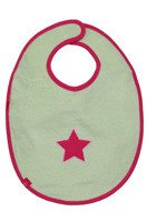 Lassig - Śliniak bawełniany wodoodporny 6-24m Starlight magenta