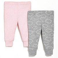 Skip Hop - Spodnie 2 szt. Pink NB