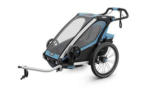 THULE Chariot Sport 1, przyczepka rowerowa dla dziecka - niebieski/czarny