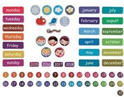 Janod - Kalendarz magnetyczny z 68 elementami