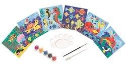 Janod - Zestaw artystyczny Magiczne farby Podwodny Świat