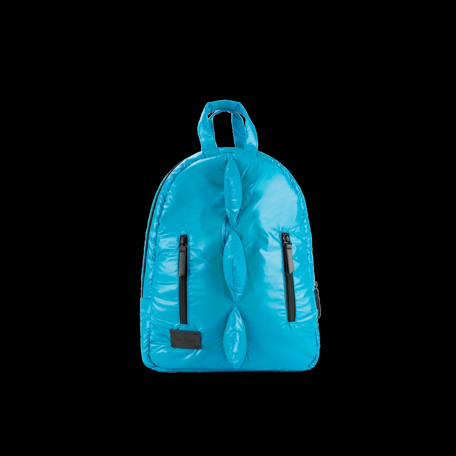 7AM - Plecak BackPack MINI DINO Turquoise