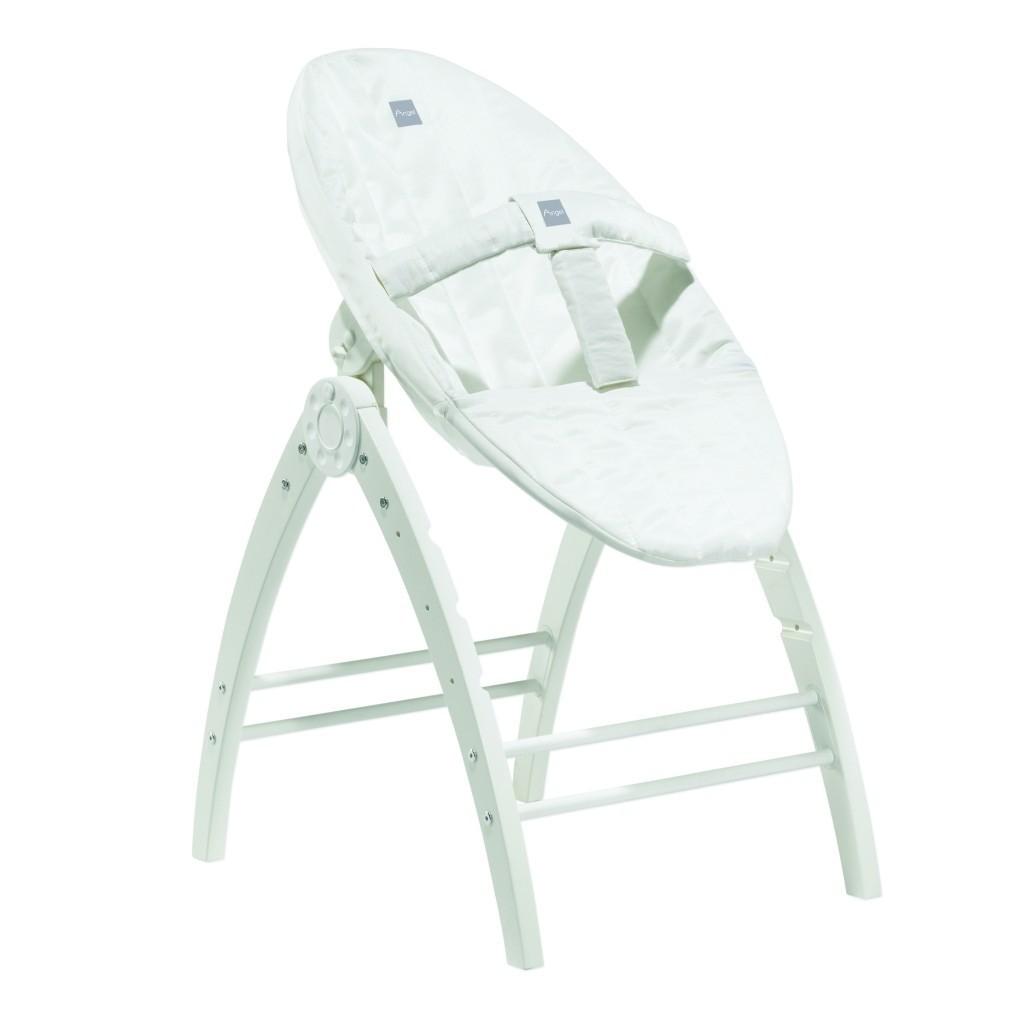 Baby Dan Angel 3w1: łóżeczko, leżaczek i krzesełko