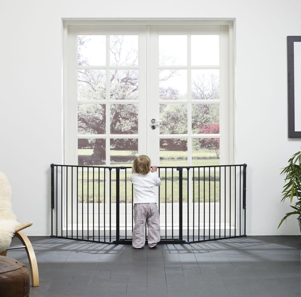 Baby Dan - Bramka ochronna FLEX L, czarny