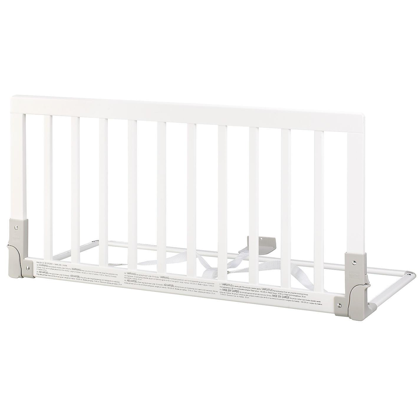 Baby Dan Drewniana Barierka Ochronna łóżka Biała