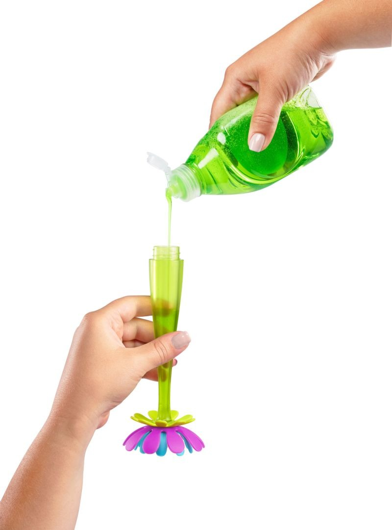 Boon - Silikonowa szczotka do butelek FORB+ z dozownikiem