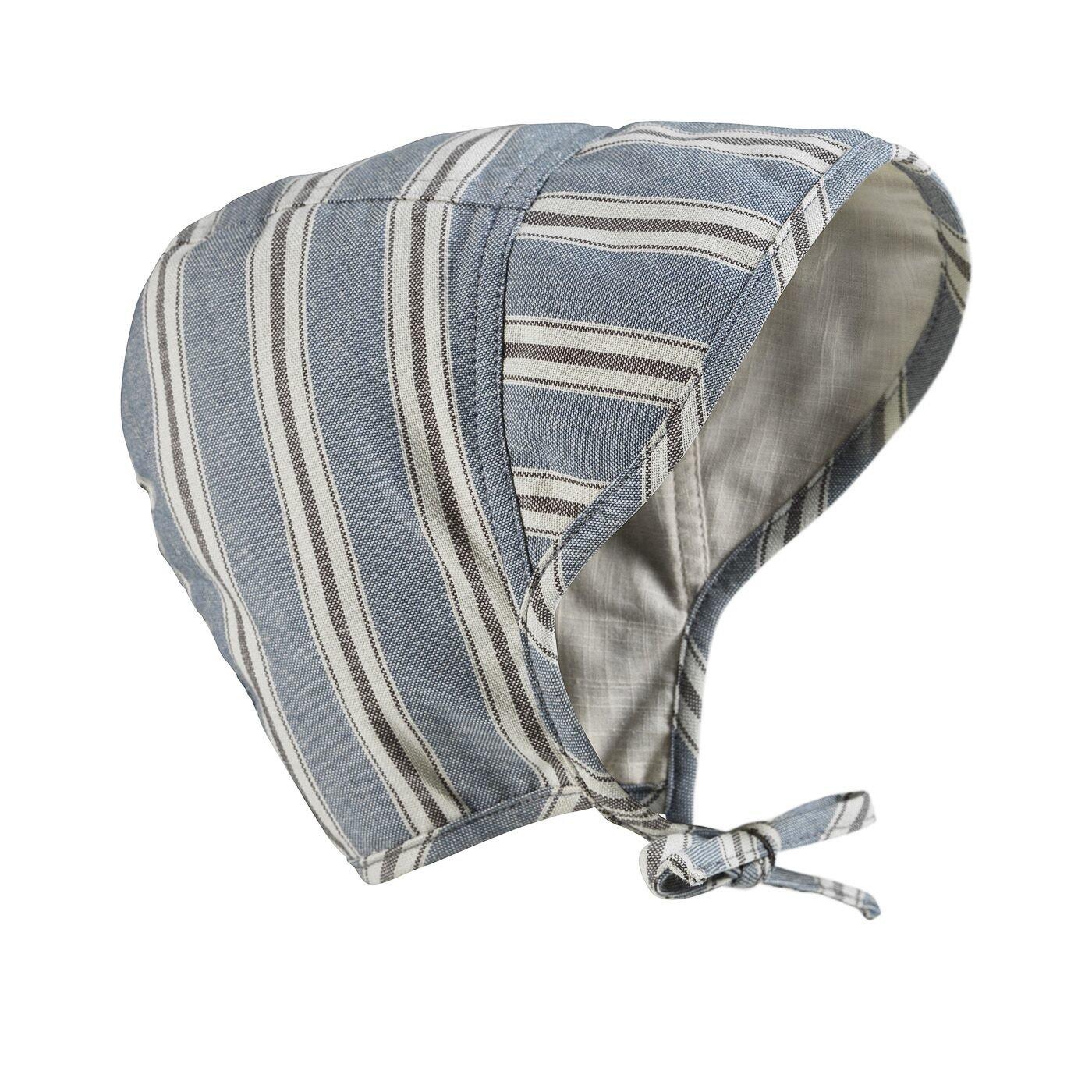 Elodie Details - Czapka Baby Bonnet - Sandy Stripe 1-2 lata