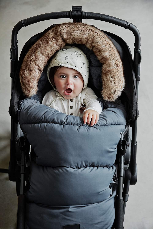 Elodie Details - Czapka Winter Bonnet - Monogram -  6-12 m-cy