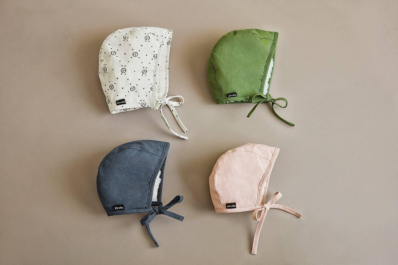 Elodie Details - Czapka Winter Bonnet - Powder Pink - 6-12 m-cy