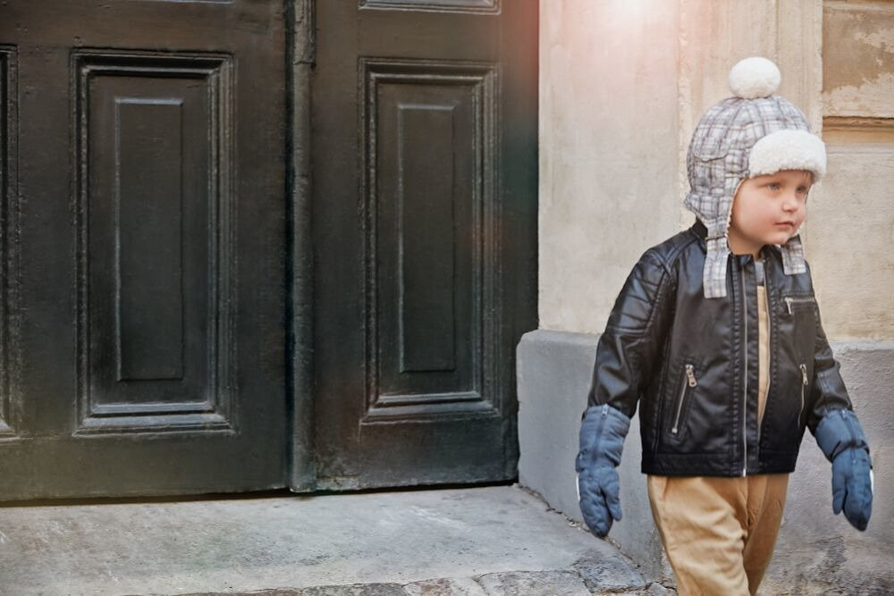 Elodie Details - Czapka Zimowa Paris Check 1-2 lata