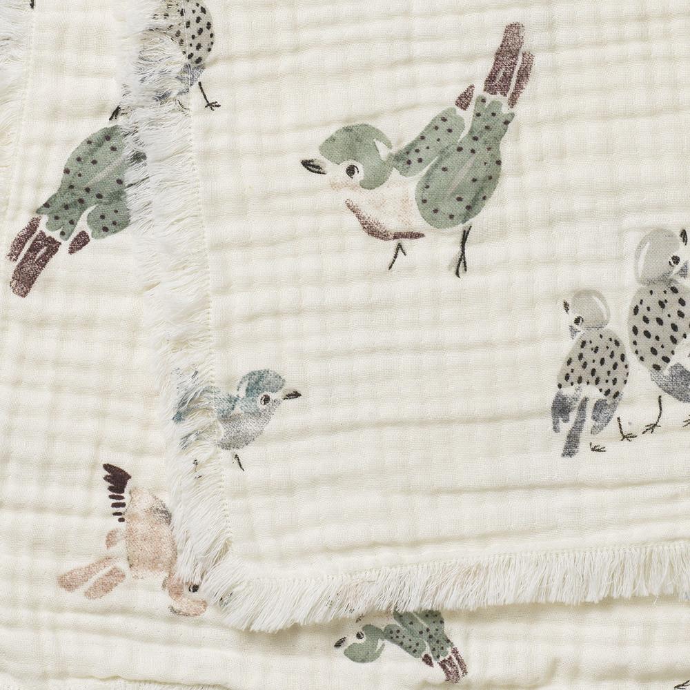 Elodie Details - Kocyk - Feathered Friends