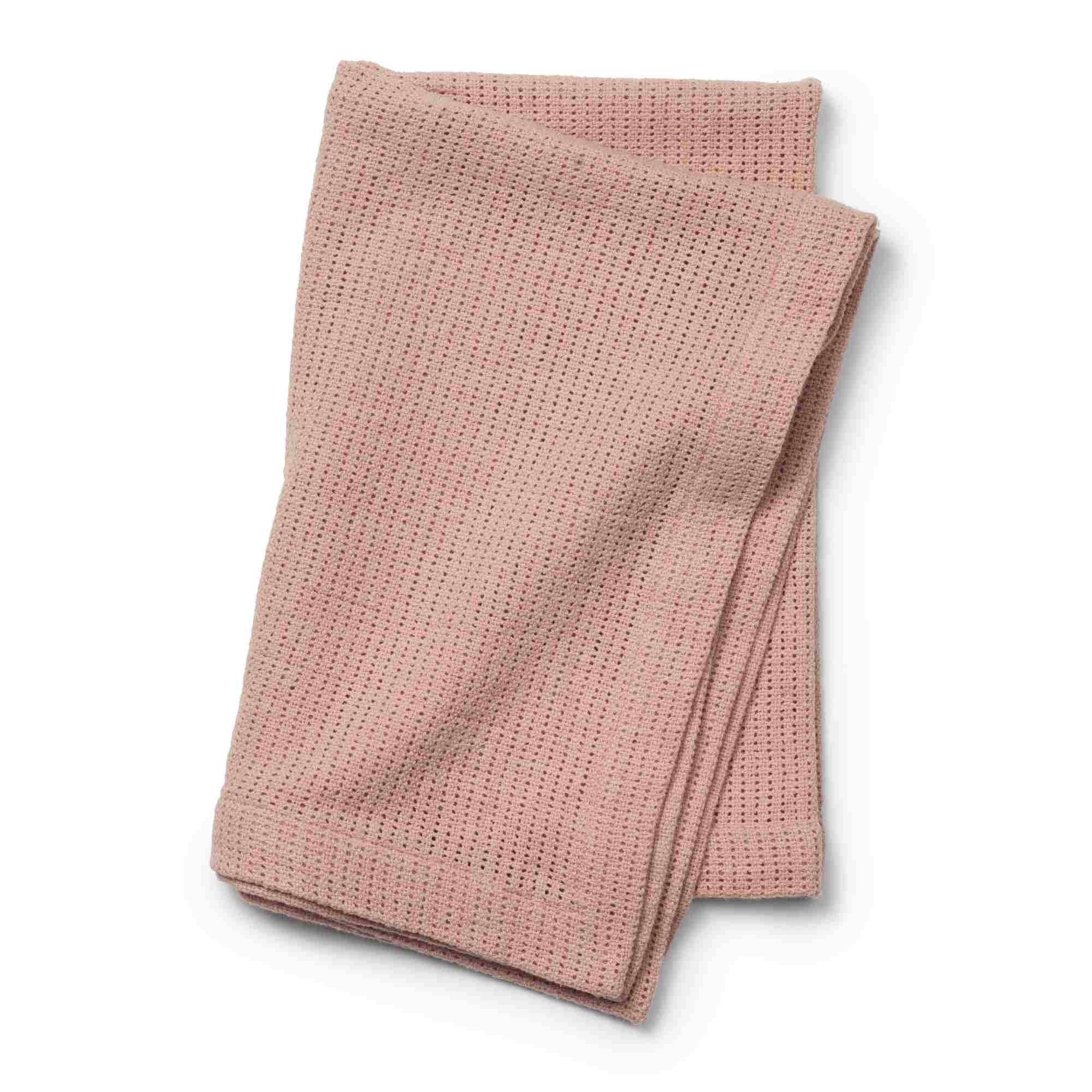 Elodie Details - Kocyk tkany - Powder Pink