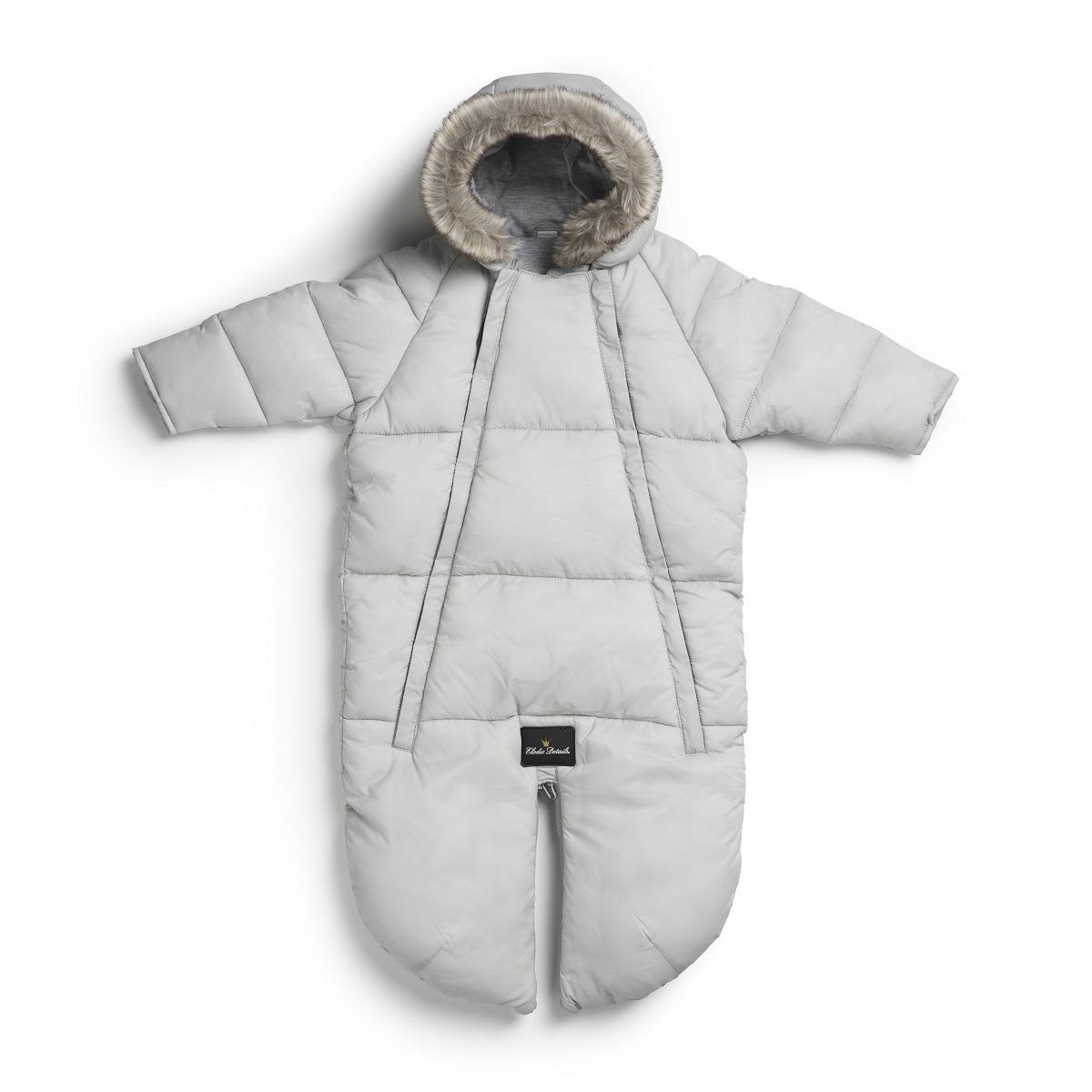 Elodie Details – Kombinezon dziecięcy - Marble Grey 0-6 m-cy