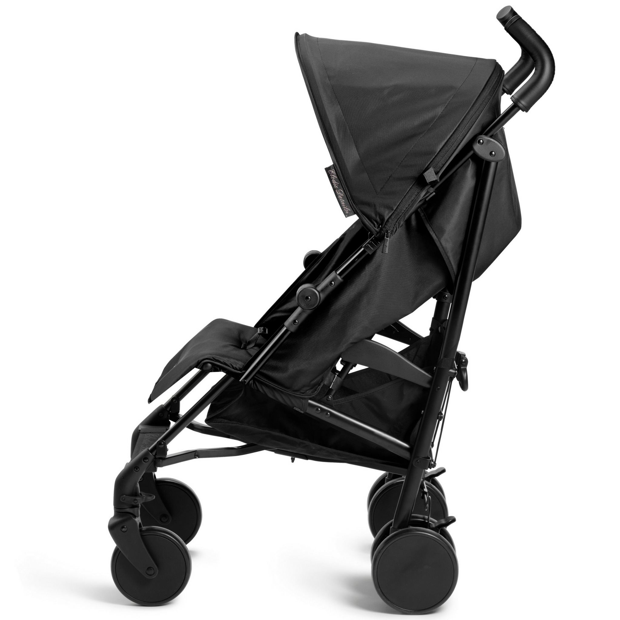 Elodie Details - wózek spacerowy Stockholm Stroller 3.0 Brilliant Black