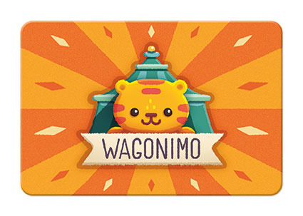 Janod - Gra karciana Wagoniki