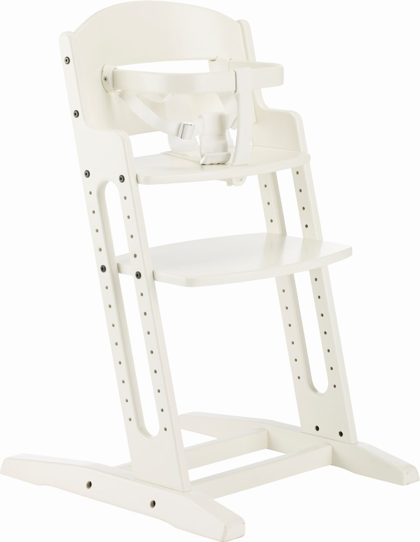 Krzesełko do karmienia Baby Dan DANCHAIR białe