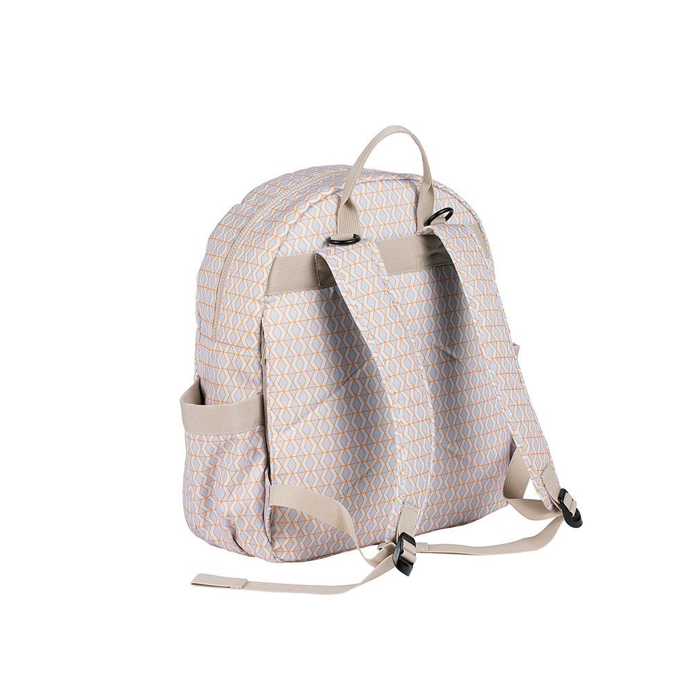 Lassig – Marv Plecak z akcesoriami Backpack Mesh beige