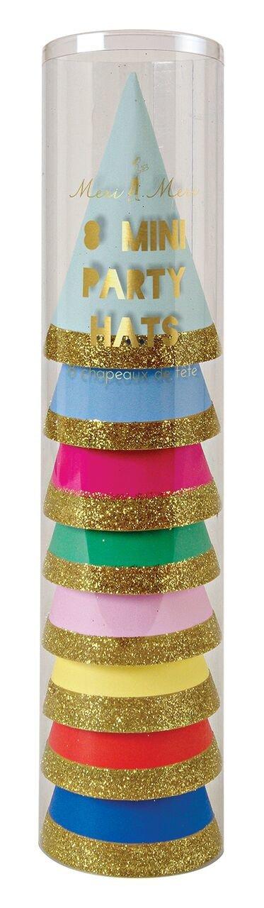 Meri Meri – Mini czapeczki urodzinowe Happy Birthday