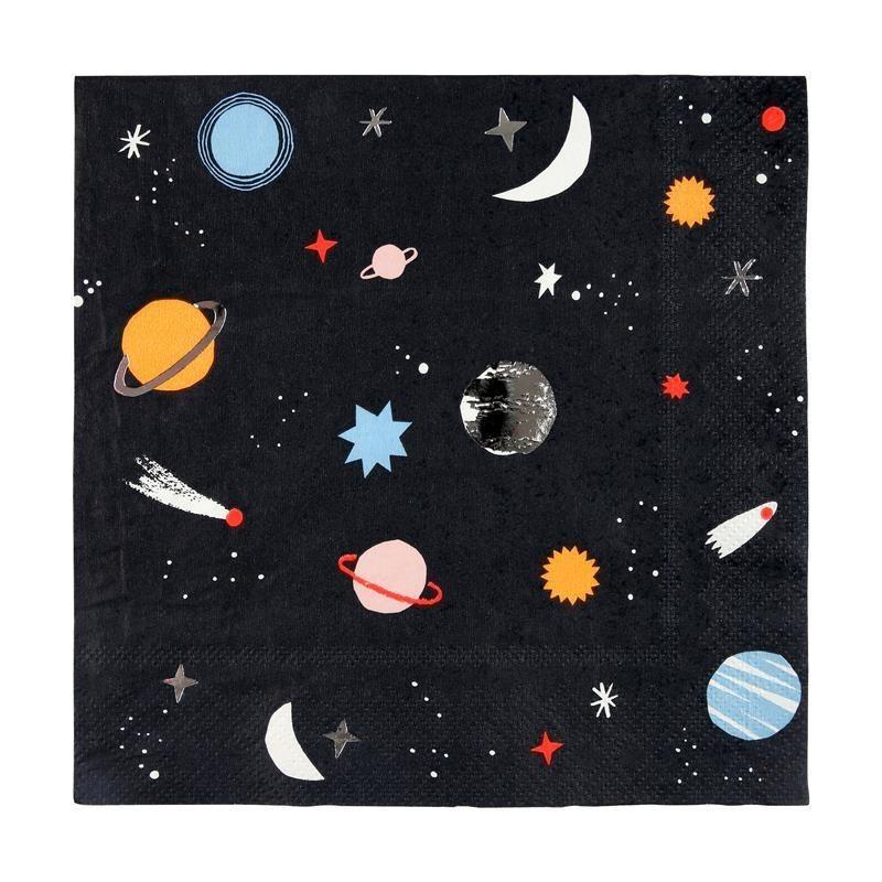 Meri Meri - Serwetka Kosmos