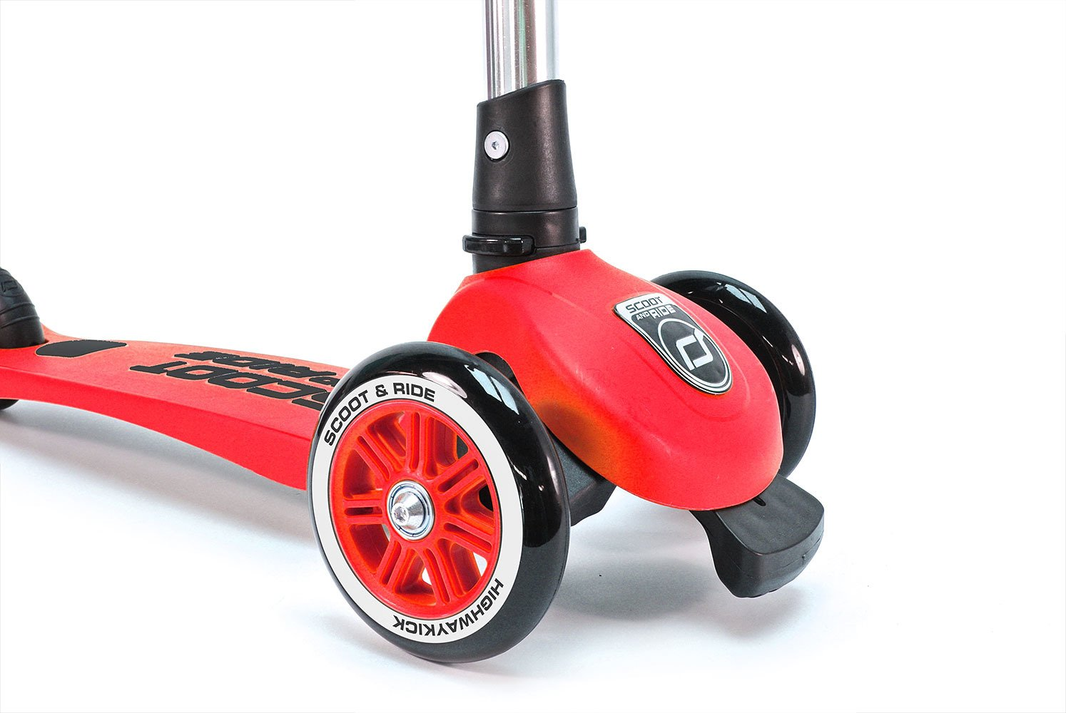 Scootandride - Highwaykick 3 Hulajnoga składana 3+ Red