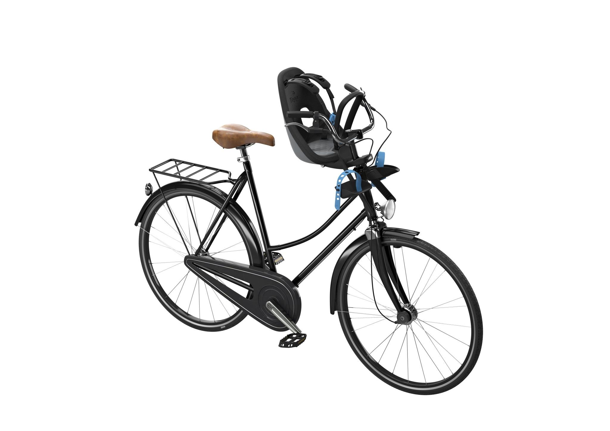 THULE - Yepp Nexxt Mini fotelik rowerowy - szary