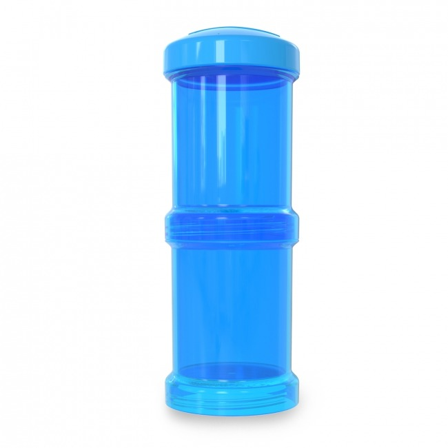 Twistshake - Pojemnik 2x100ml, niebieski