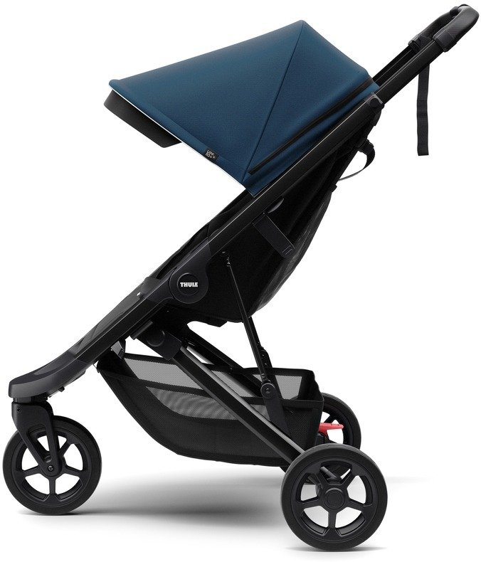 Wózek spacerowy Thule Spring Black Majolica Blue