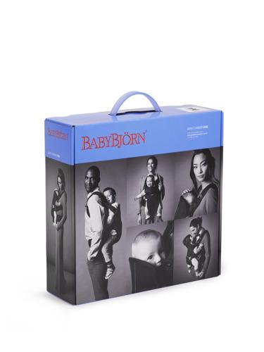 BABYBJORN ONE - nosidełko ergonomiczne, czarny/srebrny