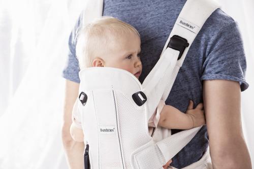 BABYBJORN WE AIR - nosidełko ergonomiczne, czarny