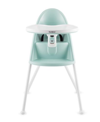 BABYBJORN - krzesełko do karmienia, turkusowe