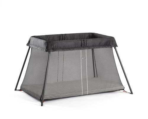 BABYBJORN - łóżko składane LIGHT - czarny