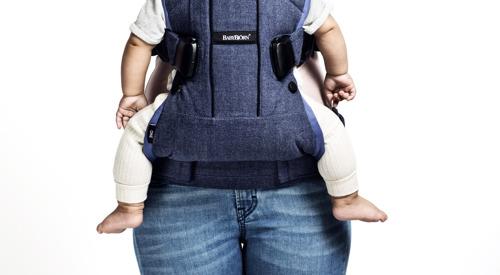 BABYBJORN nosidełko ONE Outdoors, czarny