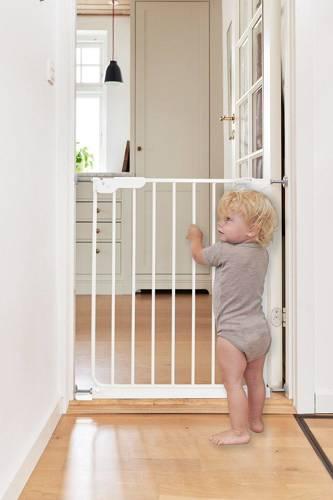 Baby Dan - Bramka ochronna SlimFit, biały