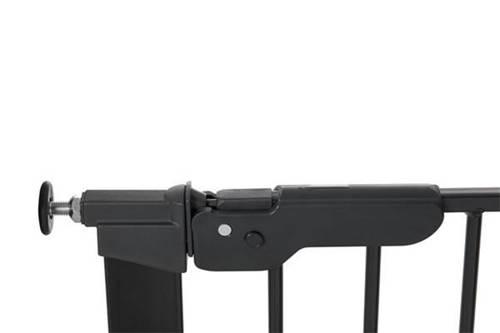 Bramka ochronna Baby Dan PREMIER + 2 rozszerzenia - czarna
