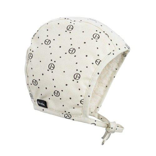 Elodie Details - Czapka Winter Bonnet - Monogram - 0-3 m-ce