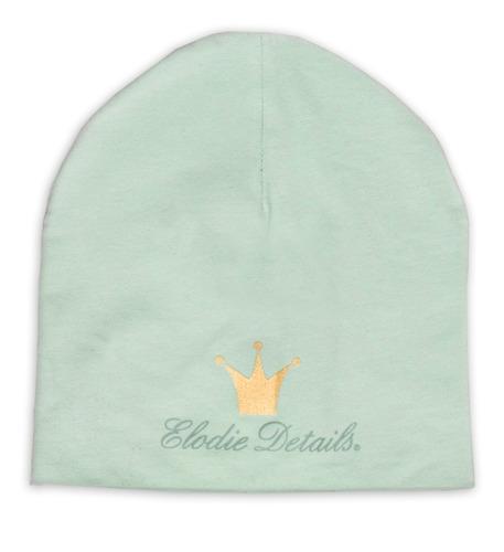 Elodie Details - czapka Dusty Green, 6-12 m-cy