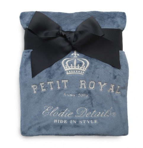 Elodie Details - kocyk polarowy Petit Royal Blue