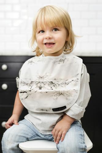 Elodie Details - śliniak Marble Grey