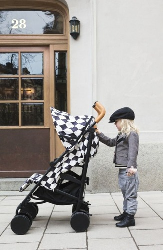 Elodie Details - wózek spacerowy Stockholm Stroller Graphic Grace