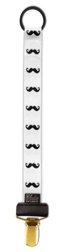 Elodie Details - zawieszka do smoczka Mustache LOVE