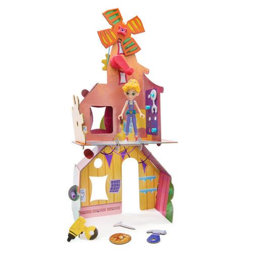 GoldieBlox - Domek Goldie zakręcony jak młynek