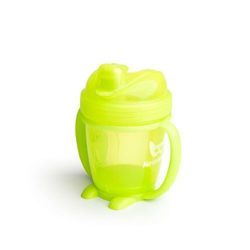 Herobility – kubek niekapek HeroSippy 140 ml, żółty