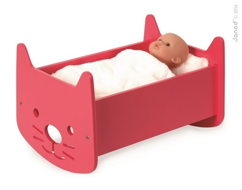 Janod - Kołyska dla lalek Babycat