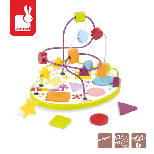 Janod - Pętla edukacyjna i puzzle
