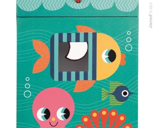 Janod - Sensoryczny sorter kształtów Ocean