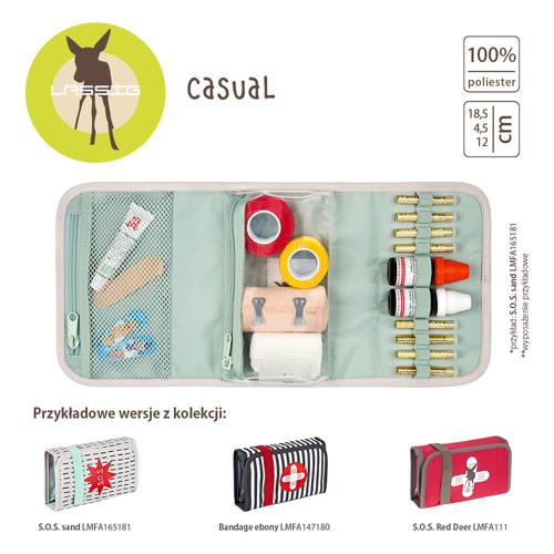 Lassig - Casual Label Apteczka Bandage ebony